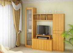 Furniture from the laminated panels