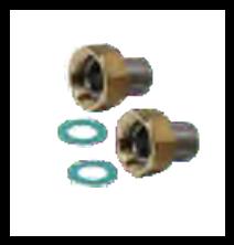 Fitting under welding for VG, AVD, AVA and AVP (a
