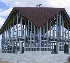 Metal framework for buildings