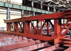 Сборная мостовая конструкция