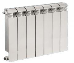 Радиатор биметаллический водяного отопления 8
