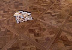 Art and modular parquet in Almaty