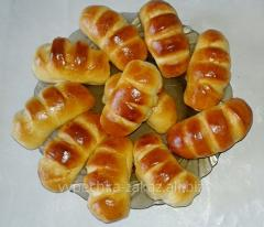 Croissants with condensed milk