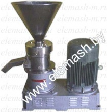 Mill for nut grinding in MUK-80 paste