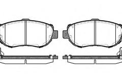 Remsa 0456.14 brake shoe