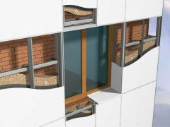 The ventilated facades