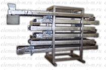Охлаждающий конвейер для кондитерских и
