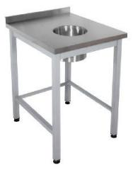 Table for collecting waste 1200*600*850
