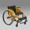 WHEELED CHAIR FOR DISABLED PEOPLE OF