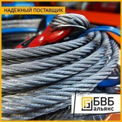 El cable de acero 8,1 mm el GOST 3077-80 PTM