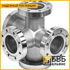 Cross flange with a fire support of PPKF 100 x 100