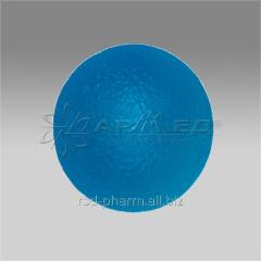 BALL FOR TRAINING OF THE BRUSH OF 50 MM RIGID BLUE