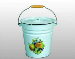 Buckets from non-ferrous metals
