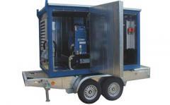 Mobile SDMO diesel generator