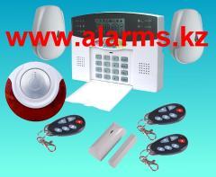GSM-сигнализация для дома,  для квартиры с