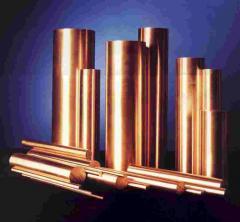 Copper circle, copper round timber, copper bar,