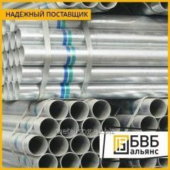 Pipe galvanized DU 40 x 3,5 GOST 3262-75