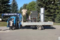 Installations oil processing small-sized RUS