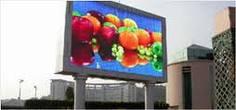 Advertizing displays, LED displays