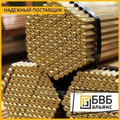 Шестигранник бронзовый БрОЦ4-3