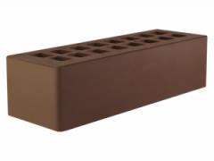 Ceramic brick dark brown euro 0,7 NF