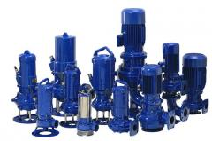 The pump for the polluted FZE liquids