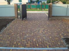 Тротуарная плитка брусчатка в Алматы