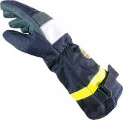 Firefighter's gaiters: from boiled and smoked
