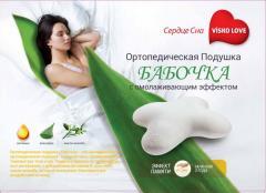 Ортопедическая подушка ViskoLove с эффектом памяти