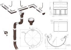 Водосточная система МП Проект