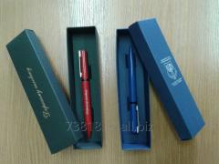 Подарок. Металлические ручки в футляре