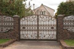 Кованные ворота, навесы в Алматы