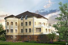 Архитектурные элементы фасадного декора из
