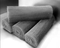 Сетки рулонные плетенные