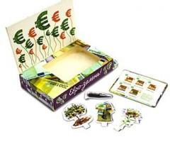 Евро зелень Живая открытка Happy Plant наборы для