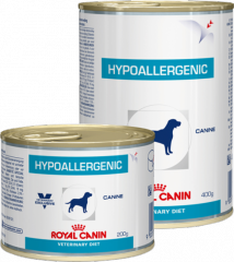 Hypoallergenic can Royal Canin корм, Банка,