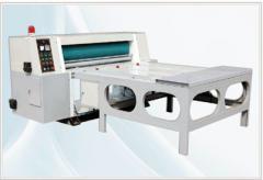 Equipment for production of corrugated fibreboard, corrugated cardboard, gofrotara, Rotary soft roller die cutting machine