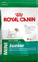 Mini Junior Royal Canin корм для щенков, От 2 до
