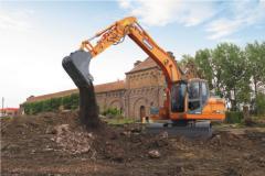 Caterpillar Doosan DX140LC excavator