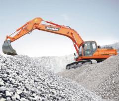 Caterpillar Doosan DX300LCA excavator