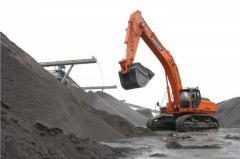 Caterpillar Doosan DX480LC excavator