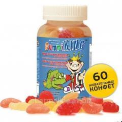 Gummi King - Мультивитамины и минералы с овощными