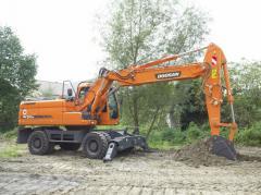 Wheel DOOSAN Doosan DX210W excavator
