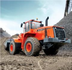 Doosan DL420A front-end loader