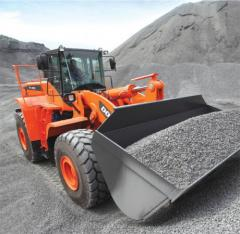 Doosan DL 550 front-end loader