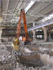 Destroyer of buildings of Doosan DX300LC-A