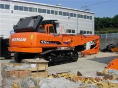 Разрушитель зданий Doosan S470LC-V Demolition