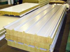 Sandwich panel construction
