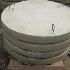 Plate PN 10 well bottom (dia of 1 m)