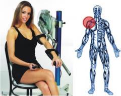 Аппарат для пассивной  разработки   плечевого  сустава Fisiotek LT